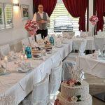 Hotel zur Burg Posterstein - Wintergarten mit Hochzeitstorte