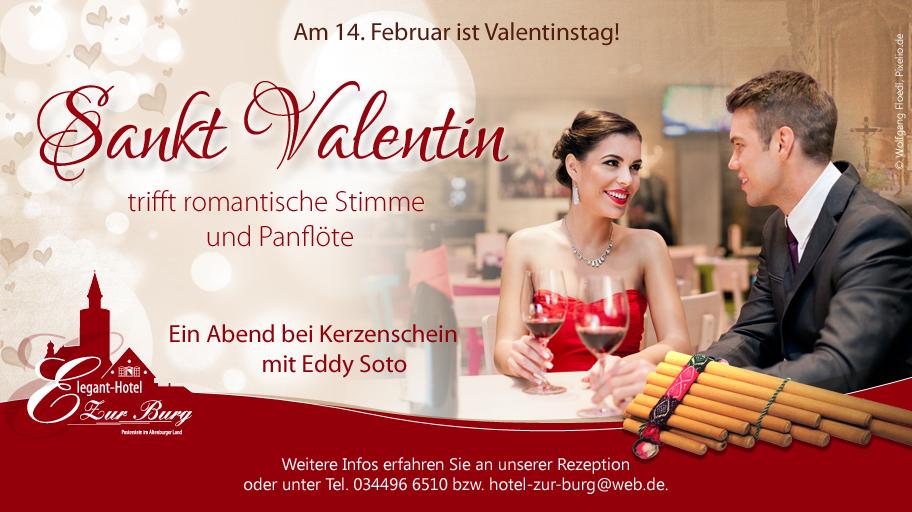 Sankt Valentin im Hotel zur Burg Posterstein